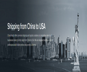 Shipping from China to USA | Shipping from China to US